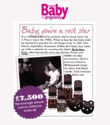Rock Star Baby - Prima Baby & Pregnancy 2013