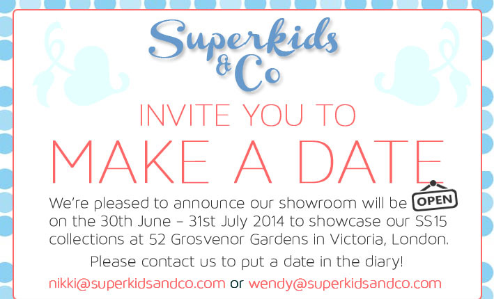 Make a date with Superkids & Co to view SS15 collections