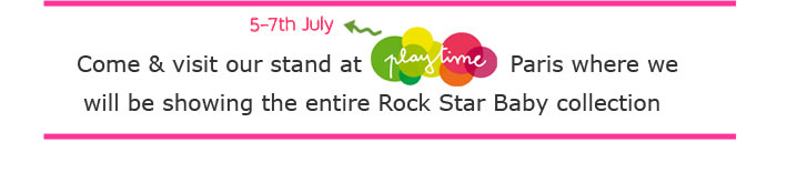 Rock Star Baby & Superkids at Playtime Paris